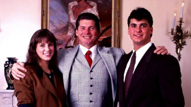 Stephanie McMahon, Shawn McMahon & There Father Vince McMahon