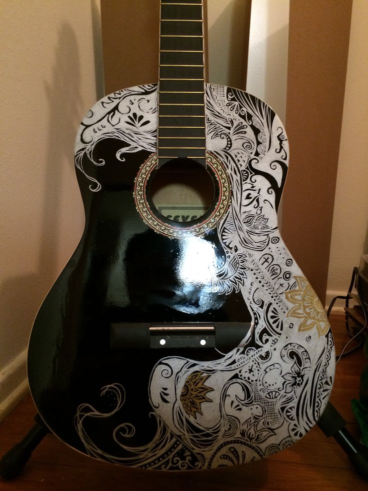 Sharpie Guitar by davidjoseortiz on DeviantArt