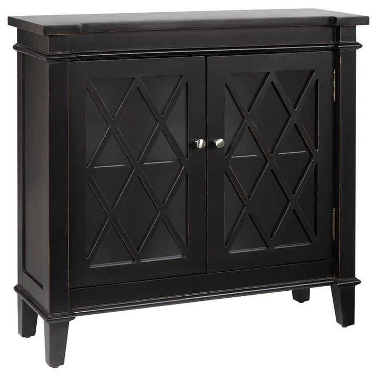"Cut-out cabinet with 2 glass doors. Bouclair.com 35.5""(w) x 34.5""(h) x 12.7(d)"