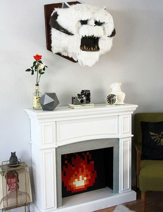 Decorating Ideas > A Collection Of Things I Want  Hearth, Pop Culture And Funny ~ 033239_Nerdy Apartment Decorating Ideas