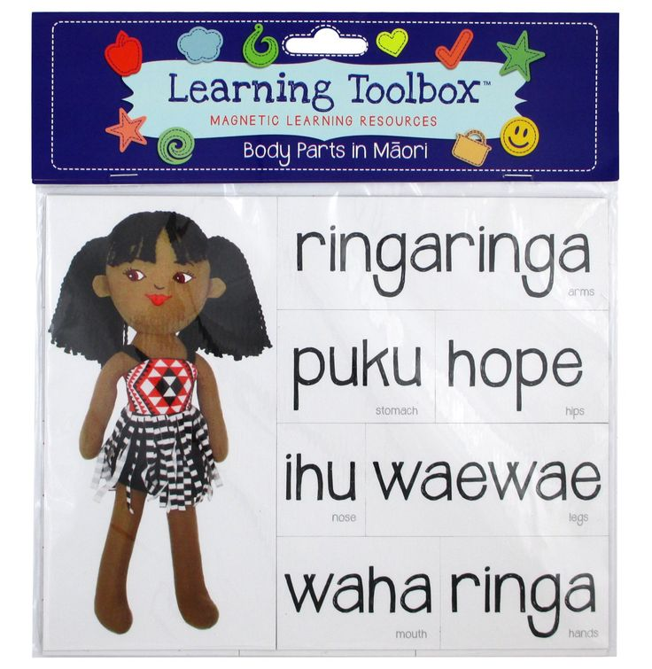 Magnetic Maori Body Parts | Teaching Resources