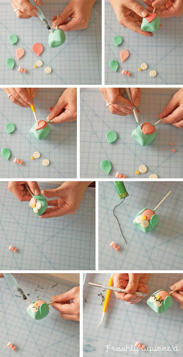 How to make cute girl and boy Owl cake pops with Letterpress Bakery