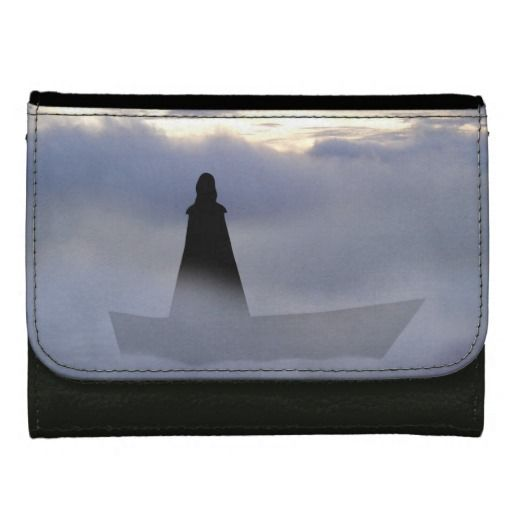 Lady of the lake leather wallet.  A Lady who had power over the elements through focusing the mind, shrouded in mystery and beauty.