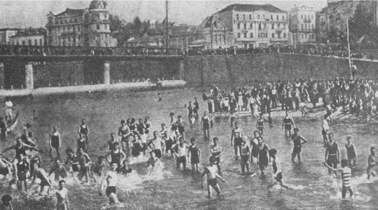 Praia Fluvial no Mondego1935
