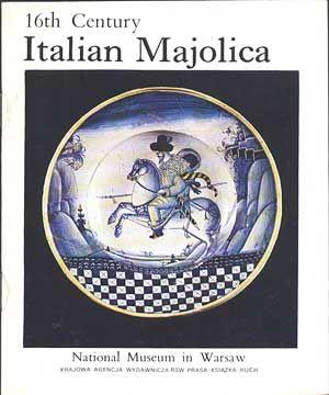 Italian Majolica (in english), Halina Chojnacka, KAW, b. r. wyd., http://www.antykwariat.nepo.pl/italian-majolica-in-english-halina-chojnacka-p-598.html