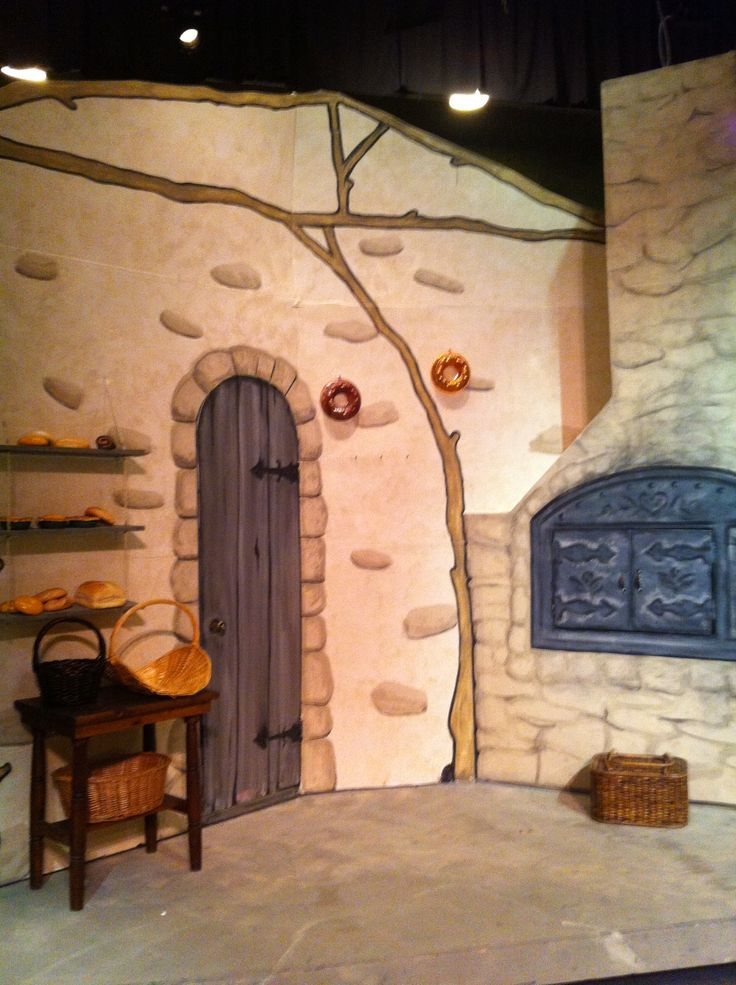 The Bakers house- Into the Woods, set design by Maggii Sarfaty