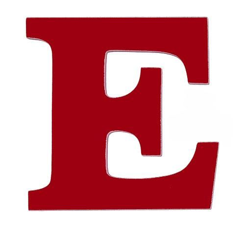 red letter E - Google Search | LETTERS | Lettering, Wooden ...