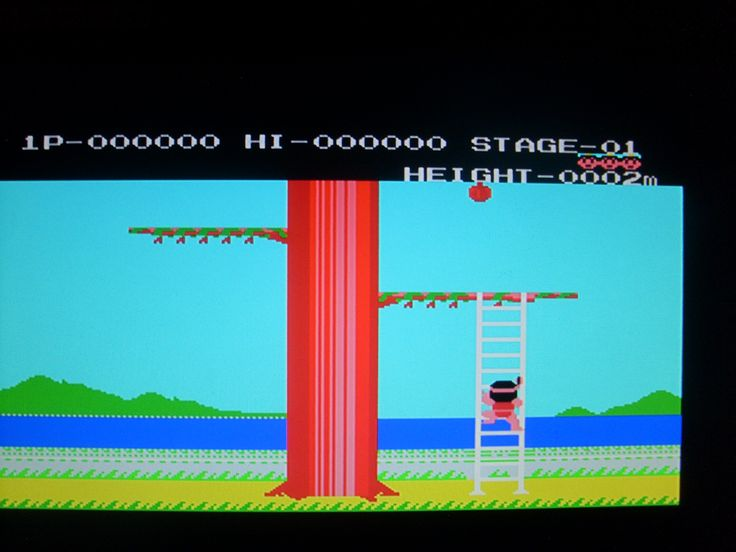 Konami Magical Tree 8bit MSX game