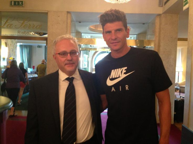 Our Manager And Mario Gomez