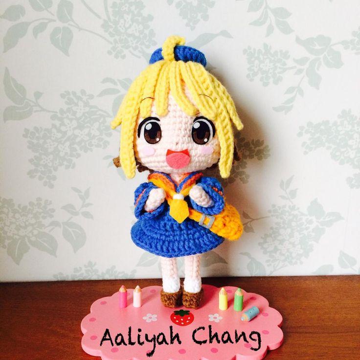 #小杏 #花丸幼稚園 #dolls #crochetdoll #amigurumi #craft #handmade #毛線娃娃 #編織 #編みぐるみ #手作り #人形娃娃 #anime #diy