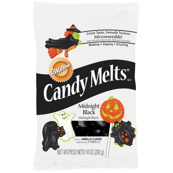 to stock up on black wilton candy melts i wish i knew why wilton only produces black candy melts one time a year