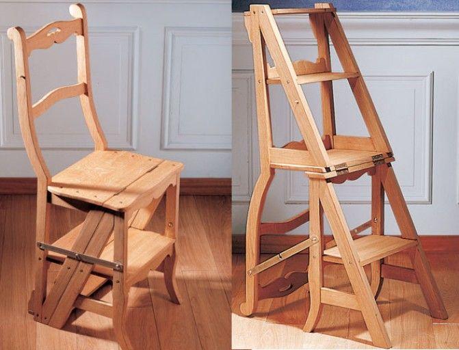 Fabriquer Une Chaise Escabeau Escabeau Bois Escabeau Chaise