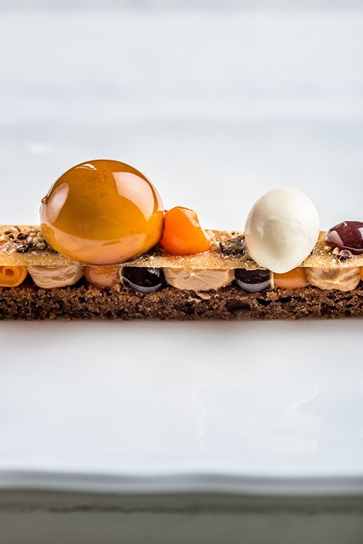 #Chocolate #Dessert by Chef MICHAEL WIGNALL at Gidleigh Park, Chagford  (Devon) UK.