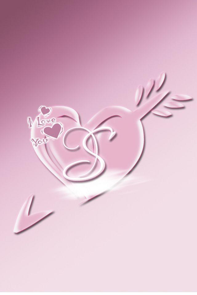Wallpaper for iPhone Love S | Alphabet! | Wallpaper ...