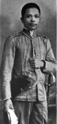 "Gen. Artemio ""Vibora"" Ricarte was a commanding general of the Philippine army: March 22, 1897 to Jan 22, 1899, who never surrendered to American forces. He was born on Oct 20, 1866 in Batac, Ilocos Norte. His original surname was ""Dodon,"" the Ilocano word for ""grasshopper."""