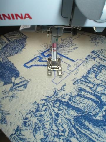 How to embroider w/o an embroider machine...yea!