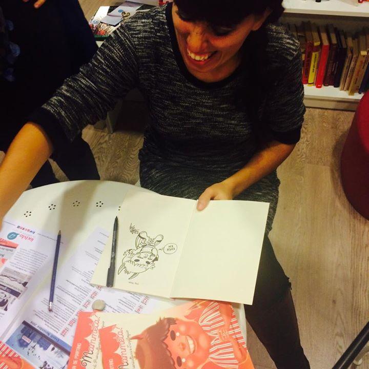 Fran firma le copie di La sai a mammeta?  Solo a Iocisto!  #iocistolibreria #lalibreriaditutti #fran #lasaiamammeta #napoli  www.iocistolibreria.it