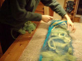Wet felting tutorial