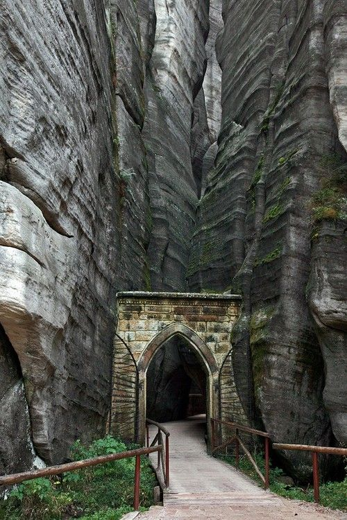 The Adrspach - Teplice Rocks are a 17 square kilometer park of incredible sandstone rock formations in the Czech Republic