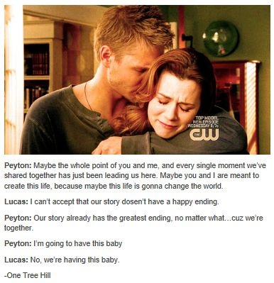 One Tree Hill - Leyton - Lucas Scott (Chad Michael Murray) & Peyton Sawyer (Hilarie Burton)