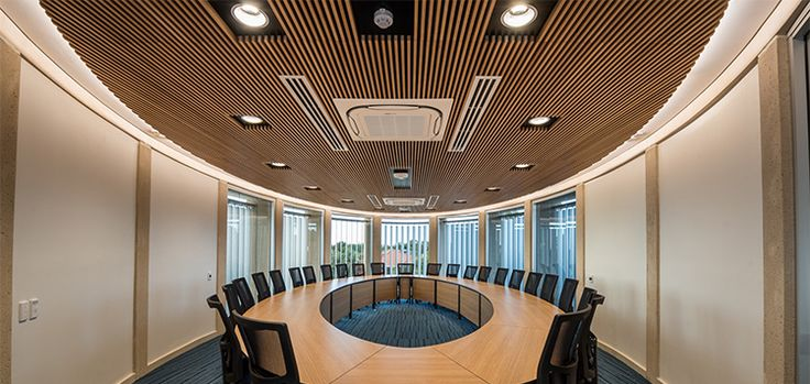 The renovated Senior College at Presbyterian Ladies College, Perth was installed with DecorSlat & DecorTrend acoustic ceilings throughout the whole facility