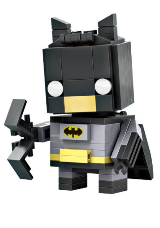 New 2016 LOZ Mini Blocks The Avengers Batman