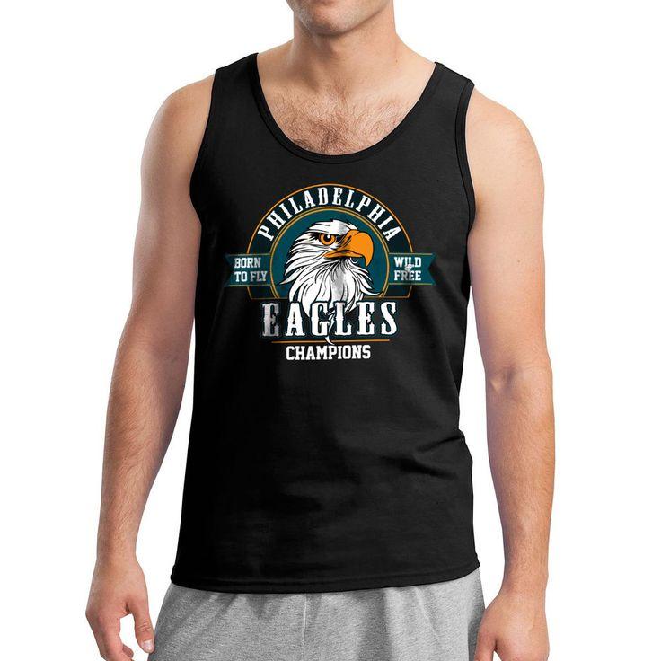 Philadelphia Eagles Born To Fly Eagles Fly SB Champions #menstyle #eagles #philadelphiaeagles