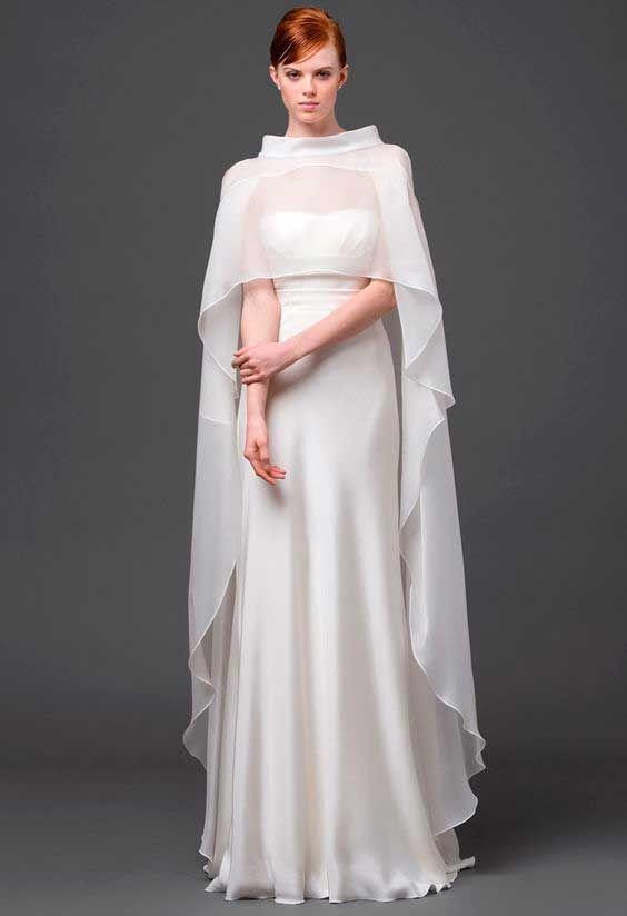 PELERINE PARA A SOGRA -- Vestido de noiva Princesa Leia Star Wars, desfile