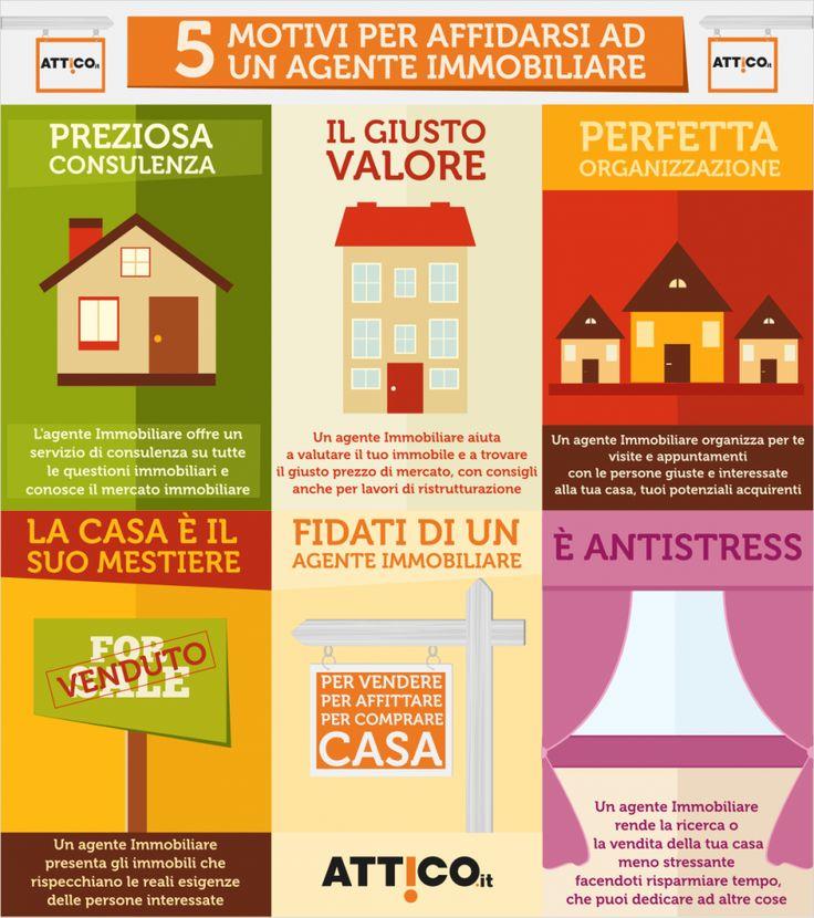 ...5 buoni motivi per affidarsi ad un #agenteimmobiliare