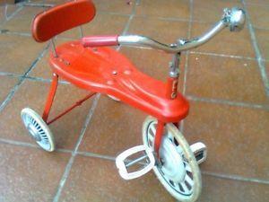 Giocattolo Vintage Triciclo CORRADO e REMONDINI Anni '60 Rosso Originale �� | eBay