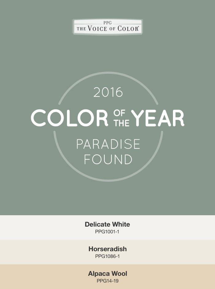 79 Best 2016 Paint Color Of The Year Paradise Found