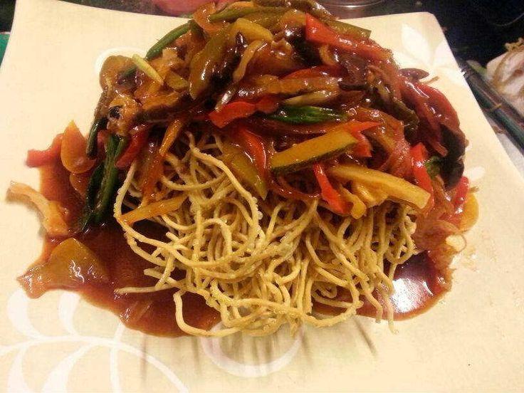 American Chopsuey Recipe | How to make American Chopsuey - Chinese