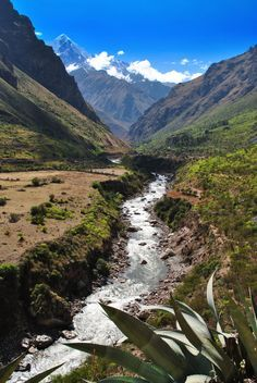 Inca Trail - The Inca road system was the most extensive and advanced transportation system in pre-Columbian South America.