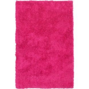Buy ColourMatch Shaggy Rug - 170 x 110cm - Funky Fuchsia at Argos.co.uk - Your Online Shop for Rugs and mats #ArgosRoomInspiration