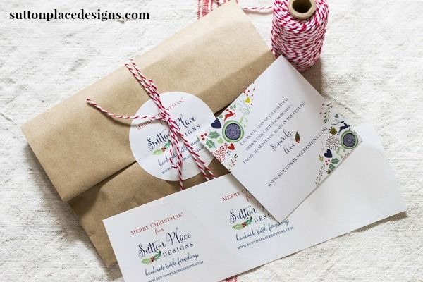 Etsy: What I've Learned & Tips for Success/Packaging from Sutton Place Designs