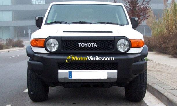 Toyota FJ Cruiser Vinilo Blanco Mate
