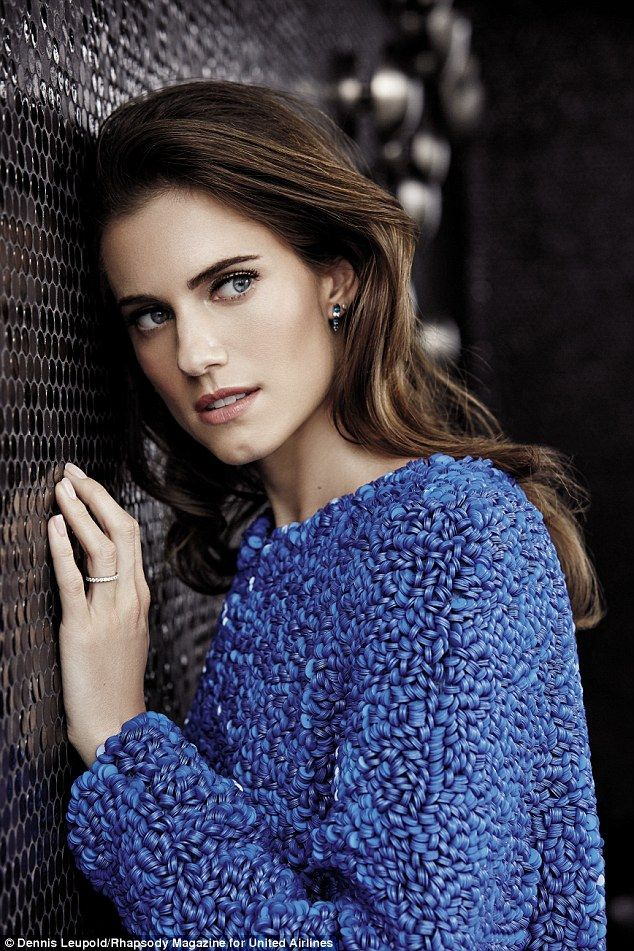 Allison Williams covers Rhapsody magazine #dailymail