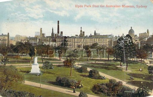 Hyde Park, circa 1914