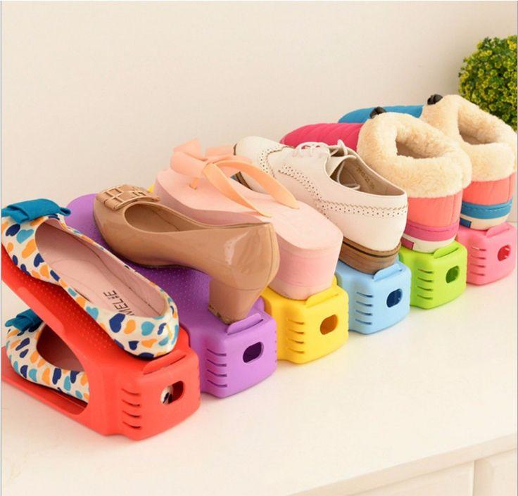 25 melhores ideias de prateleiras de sapatos no pinterest. Black Bedroom Furniture Sets. Home Design Ideas