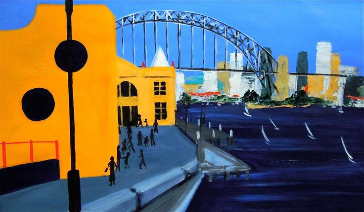 From Luna Park – Acrylic on paper PLATFORMstore