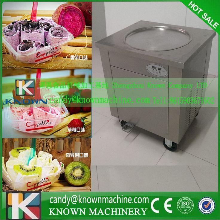 1450.00$  Watch here - http://alilzj.shopchina.info/1/go.php?t=32624697500 - US/European  Plug 220-240V fried ice cream roll machine, fried ice cream machine, flat pan fried ice cream machine  #shopstyle