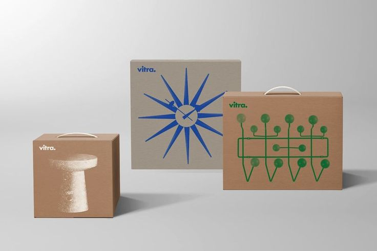 vitra furniture - Switzerland-based Vitra furniture has launched all new packaging for its contemporary designs. Unlike the brand's dynamic furniture, this new...