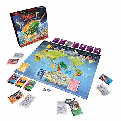 Modiphius Thunderbirds Co-Operative Board Game: Modiphius Entertainment: Amazon.co.uk: Toys & Games