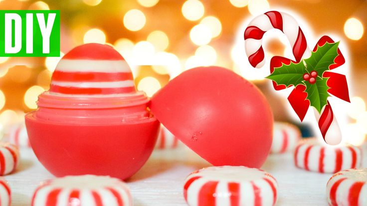 DIY Peppermint Candy EOS | How to Make EOS Lip Balm