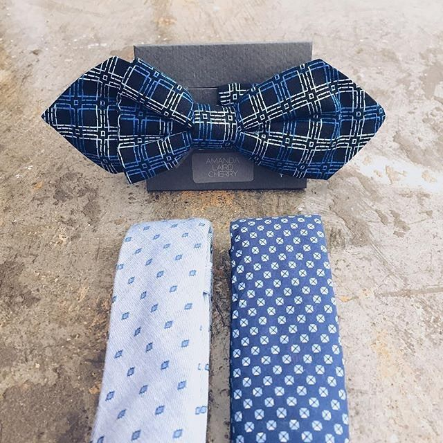 Ties and bow ties to dress up any outfit! Stylish patterns and designs by @alc_man.  #spacemanza #mensfashion #safashion #supportlocal