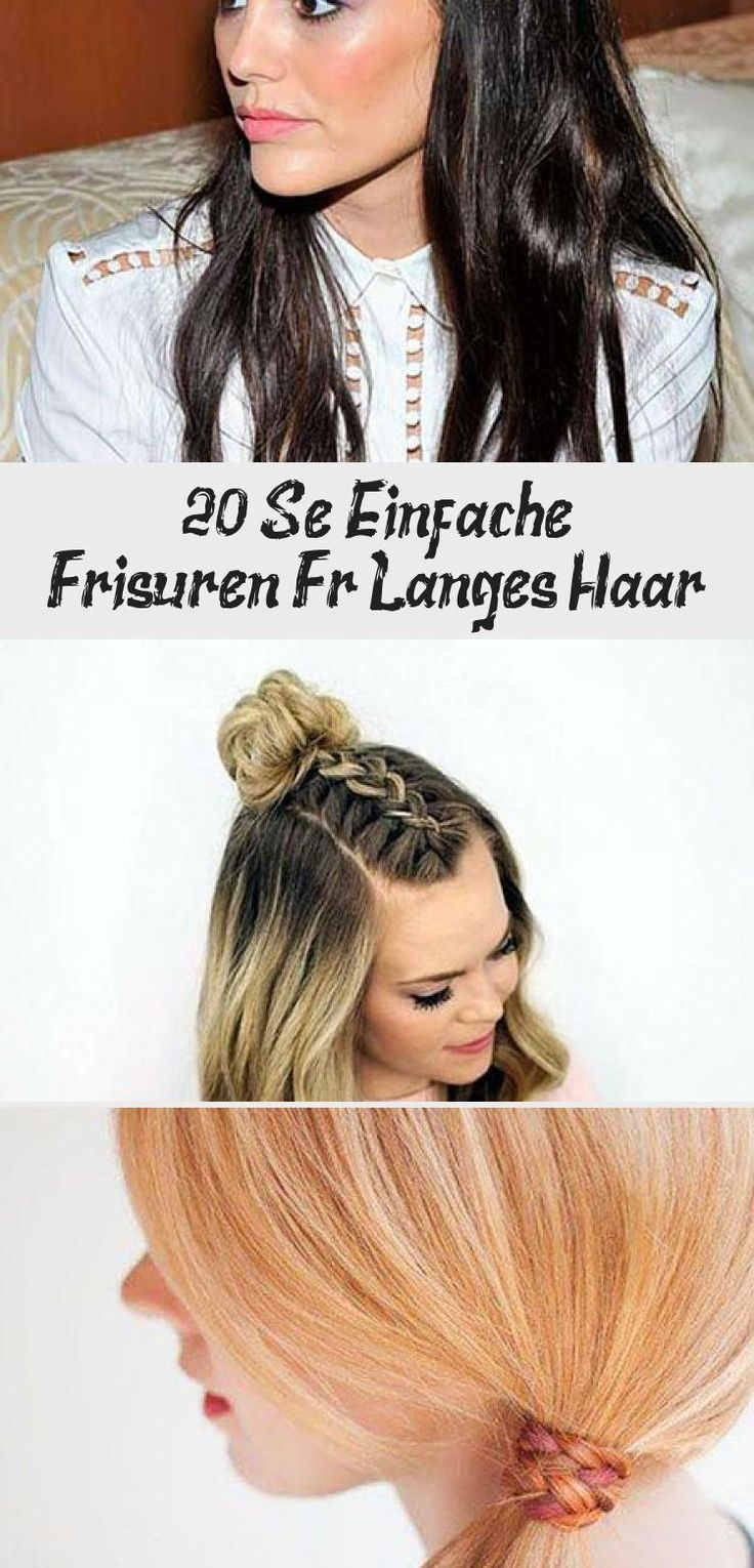 20 Sweet Simple Hairstyles For Long Hair