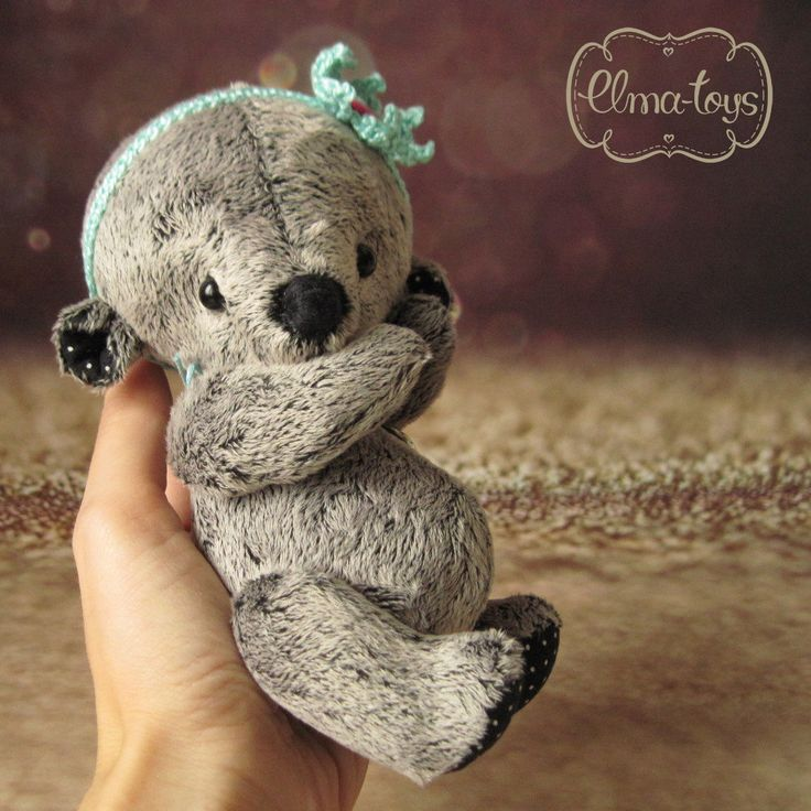 Artist teddy bear. Stuffed Animals Soft Toys. Gift for her. by Elmatoys on Etsy