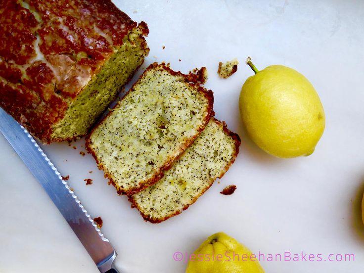 Glazed lemon poppy seed loaf recipe lemon poppyseed