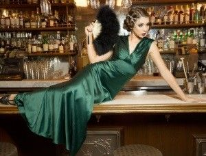 Gorgeous! 1930s Style Formal Evening Prom Gown at Unique-Vintage  more colors too.