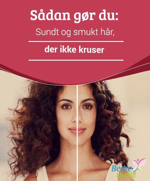 Sådan gør du: Sundt og smukt hår, der ikke kruser  #Vidste du, at en banan-hårmaske er en af de bedste fugtighedsmidler til vores hår? Det #hjælper med at mindske kruset hår, #giver det fugt og efterlader håret #blødt og let medgørligt.